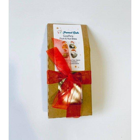 100гр. Коледни сладки с плодове и ядки за папагал - без консерванти