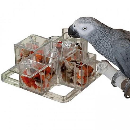 Стимулираща играчка за папагали