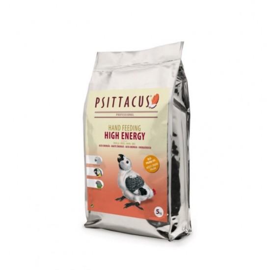 5кг. Psittacus High Energy (ръчно хранене): подходяща за Африкански Сив папагал, всички видове Ари и Сенегалски папагал