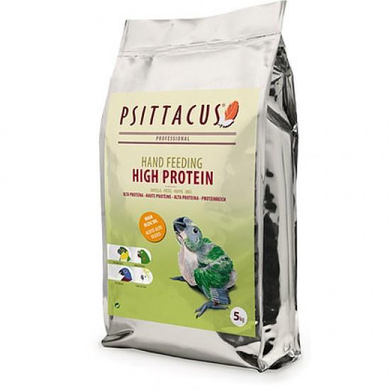 5кг. Psittacus High Protein (ръчно хранене): за Амазони, Какаду, Корели, Розели и др.
