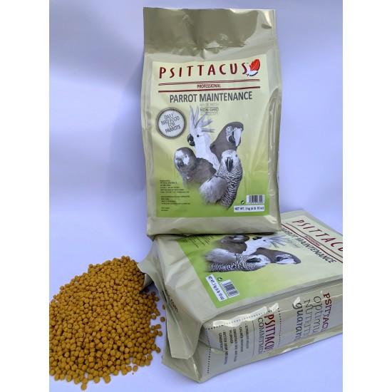 3кг. Psittacus Parrot Maintenance: Поддържаща универсална формула