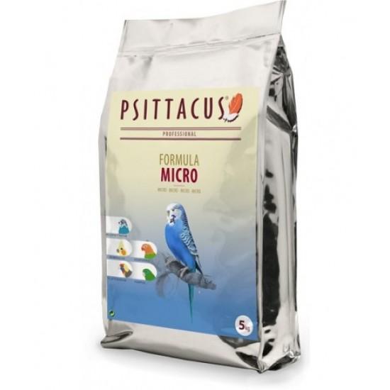 5кг. Psittacus Micro Formula: за Вълнисти папагали, Корели, Неразделки , малки папагалчета и неофеми