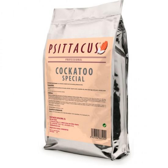5кг. Psittacus Cockatoo Special: за ръчно хранене, подходяща за Какаду